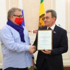 В пензенском парламенте наградили представителей СМИ