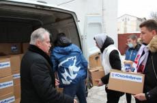 В Пензе вручили новогодние подарки медикам, работающим в «красной зоне»