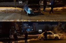 В Пензе случилась серьезная авария с «Яндекс.Такси»