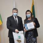 Дипломом мэра города награждена корреспондент Первого пензенского портала
