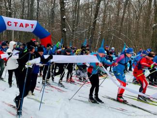 В Пензе более 500 человек участвовали в лыжной гонке