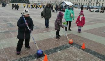 В центре Пензы для юных жителей прошли «Веселые старты»