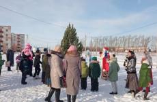 В одном из пензенских микрорайонов прошел Рождественский сочельник