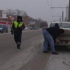В Пензе сотрудники ГИБДД остановили более 20 машин с грязными номерами