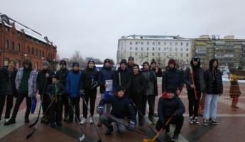 В Пензе подвели итоги соревнований по хоккею в валенках