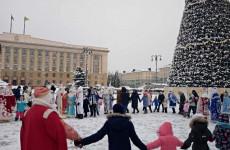 В Пензе состоялось официальное завершение новогодней кампании