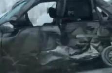 В Пензенской области случилось страшное ДТП с летальным исходом. ВИДЕО