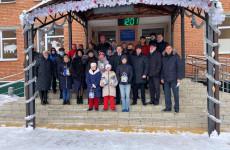 Член «Единой России» подарил подарки воспитанникам Мокшанского детдома