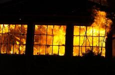В Пензе пожар в трехквартирном доме тушили 28 человек