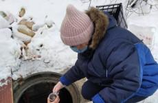 В Пензе помогли бездомному человеку