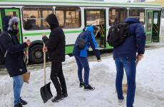 В Пензе более 500 студентов выйдут убирать город от снега