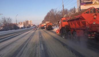 В Пензе вывезли почти 28 тысяч тонн снега