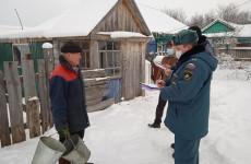 В Вадинском районе проверили состояние газового и печного оборудования