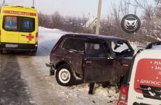 На улице Строителей в Пензе случилось серьезное ДТП - соцсети