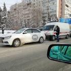 В центре Пензы попала в аварию машина «скорой помощи»