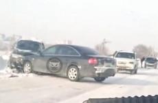 В селе под Пензой жестко столкнулись два автомобиля