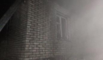 В Пензенской области в ночном пожаре пострадали люди