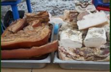 В Пензенской области сняли с продажи опасное свиное сало