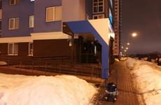 В Пензе на 8-летнюю девочку упала наледь