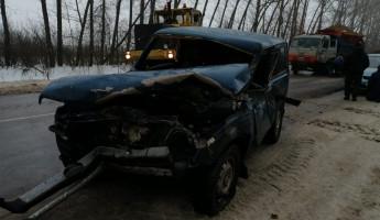 В Пензенской области попал в жесткое ДТП школьный автобус. ФОТО