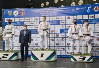 Дзюдоист из Пензы стал призером всероссийских соревнований