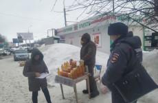 В Октябрьском районе Пензы устроили облавы на уличных торговцев