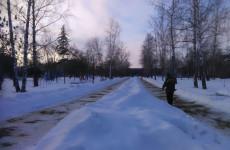 В Пензе на устранение обледенения дорог и тротуаров потратили 450,5 тонн песко-соляной смеси