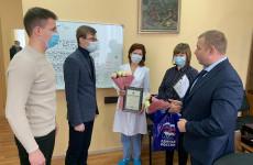 Медикам из «красной зоны» вручили Благодарности парламента Пензенской области