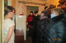 В Ленинском районе Пензы проверили 17 неблагополучных семей