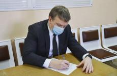 Мэр Пензы привился от коронавирусной инфекции