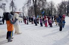 В Пензе проходят зимние праздники в парках города