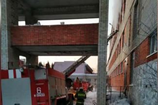 В Кузнецком районе произошел пожар в санатории, в котором отдыхали 160 детей