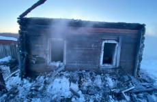 В Пензенском районе погибли в пожаре мать и сын