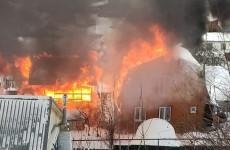 Пожар на улице Дарвина в Пензе тушили 34 человека