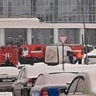 В Пензе к библиотеке имени Лермонтова стянулись машины экстренных служб