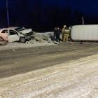 В Пензенской области в страшной аварии изуродовало две машины