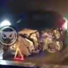 Три человека пострадали в аварии в пензенском микрорайоне Ахуны