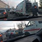 Трех человек увезли в больницу после ДТП на улице Баумана в Пензе