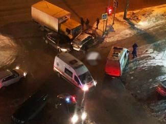 В Пензе за прошедший вечер случилось три ДТП