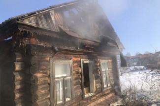 В Пензенской области случился жуткий пожар с двумя погибшими