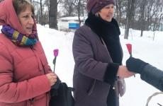 8 марта в пензенских парках устроили сюрприз для женщин