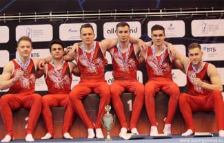 Призерами чемпионата России в составе команды ПФО стали пензенские гимнасты