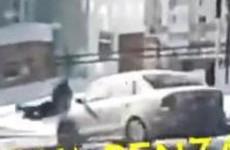 В Пензе учитель лицея прямо на «зебре» сбил ребенка. ВИДЕО