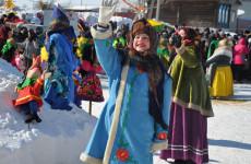 В Пензенской области прошел праздник «Масленица в Радищево»