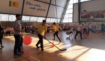 В Пензе прошли соревнования среди спортивных семей