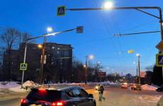 В Пензе оборудовали «кососветами» еще 10 пешеходных переходов
