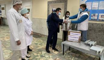 Волонтерские центры «Единой России» отметили первую годовщину