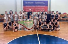 В Пензе подвели итоги первенства города по баскетболу среди девушек