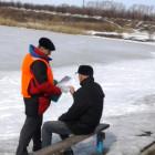 Пензенцам снова напомнили об опасности выхода на лед