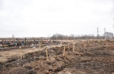 Мэр Пензы проверил ход строительства нового кладбища